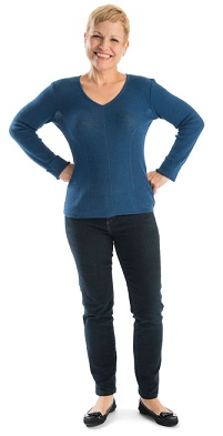 Woman Standing in Power Pose Leap Forward Coaching